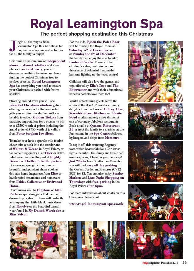 Edge Mag Xmas 2015 Editorial