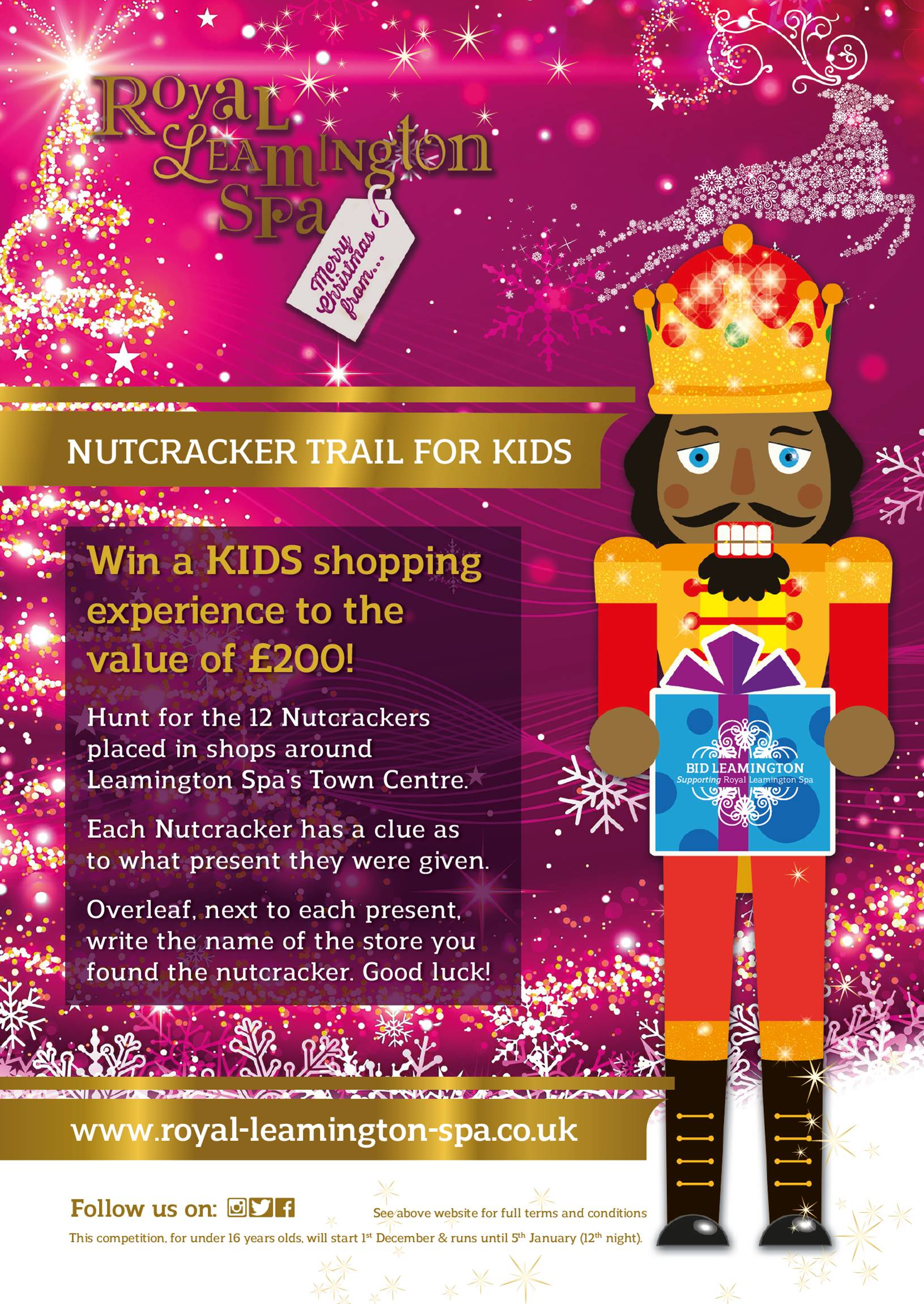 Nutcracker Kids Comp Flyer 2016
