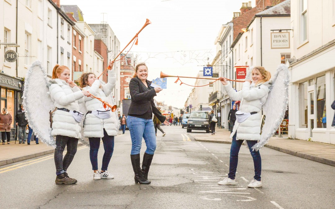 Parking Angels Fly in to Add Spa'kle