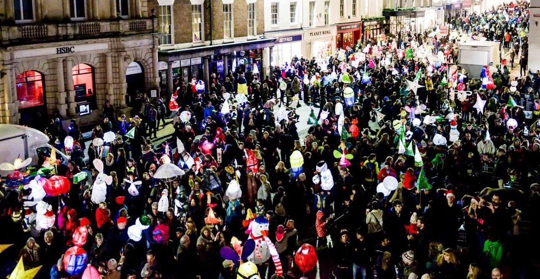 The Annual Lantern Parade Lights Up Leamington!