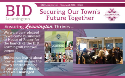Ensuring Leamington Thrives – Ballot 2018