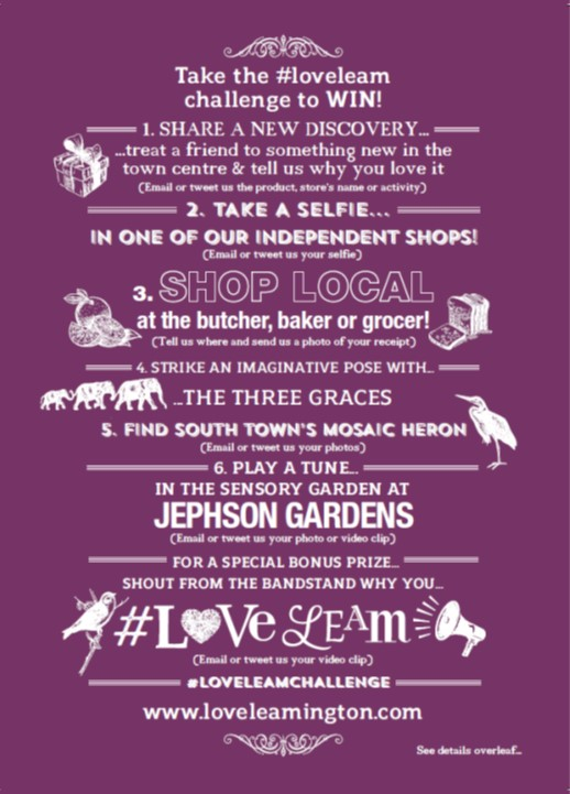 A5 Love Leam Flyer