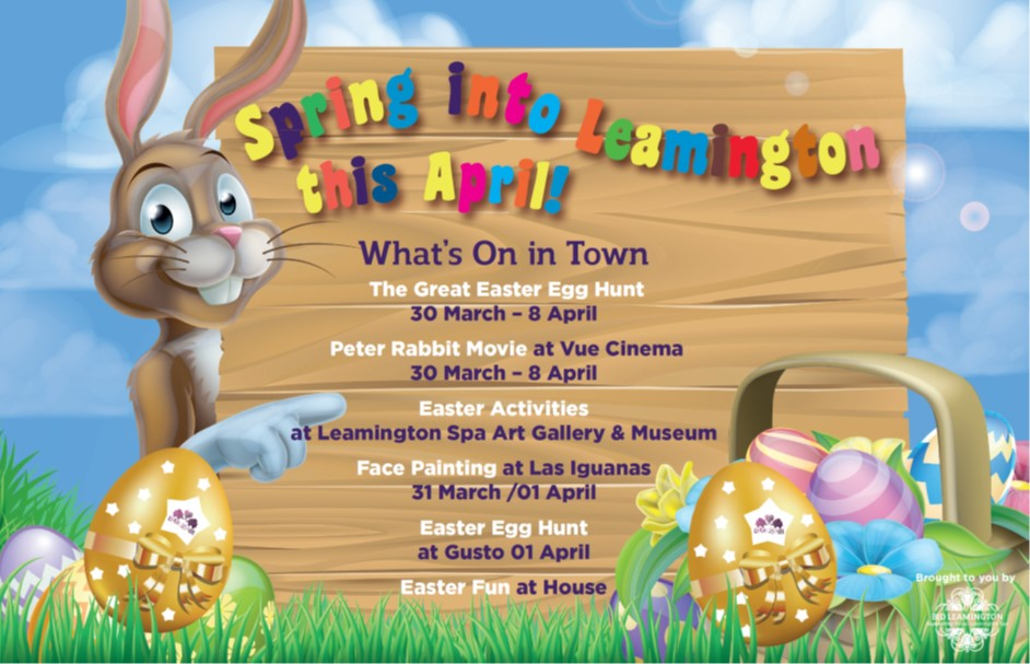 Jump into Town - Easter Whats On -Observer