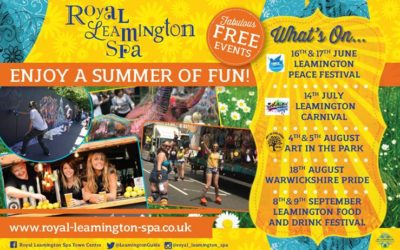 """Join in the """"Summer of Fun"""" at Royal Leamington Spa…"""