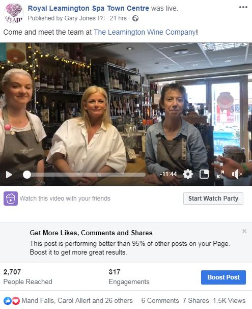 FB live_ LWC