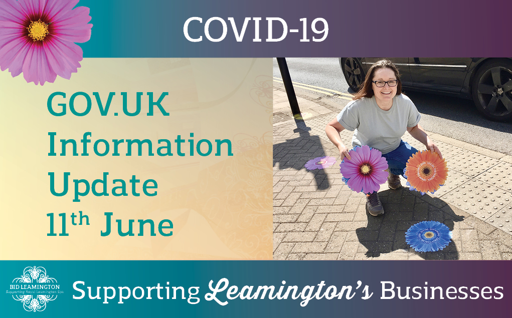 GOV.UK Update, Risk Information & Opening Resources: 11th June